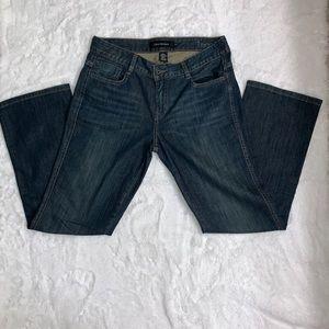 Calvin Klein Blue Lean Boot Cut